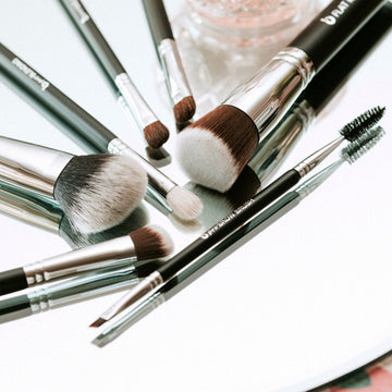 Basic Travel Makeup Brush Set
