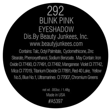 Blink Pink Eyeshadow Pan