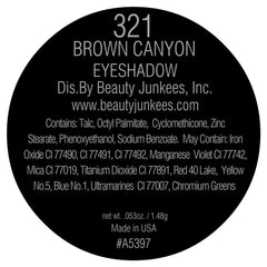Brown Canyon Eye Shadow Single Magnetic Refill Pan