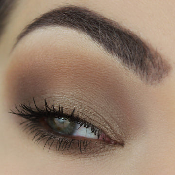 Coffee and Cream Eyeshadow Collection Eye Makeup Look