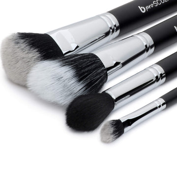 pro Contour & Highlighting Makeup Brush Set with Case
