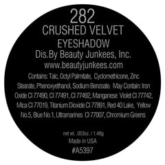Crushed Velvet Eye Shadow Single Magnetic Refill Pan