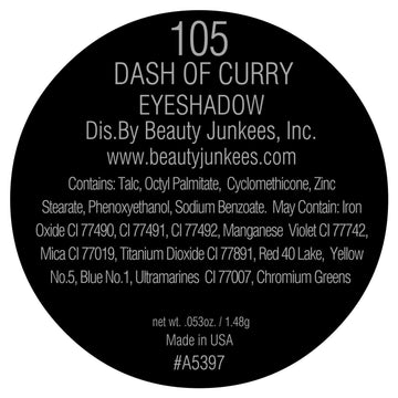 Dash of Curry Eyeshadow Pan