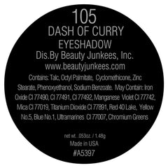 Dash of Curry Eye Shadow Single Magnetic Refill Pan