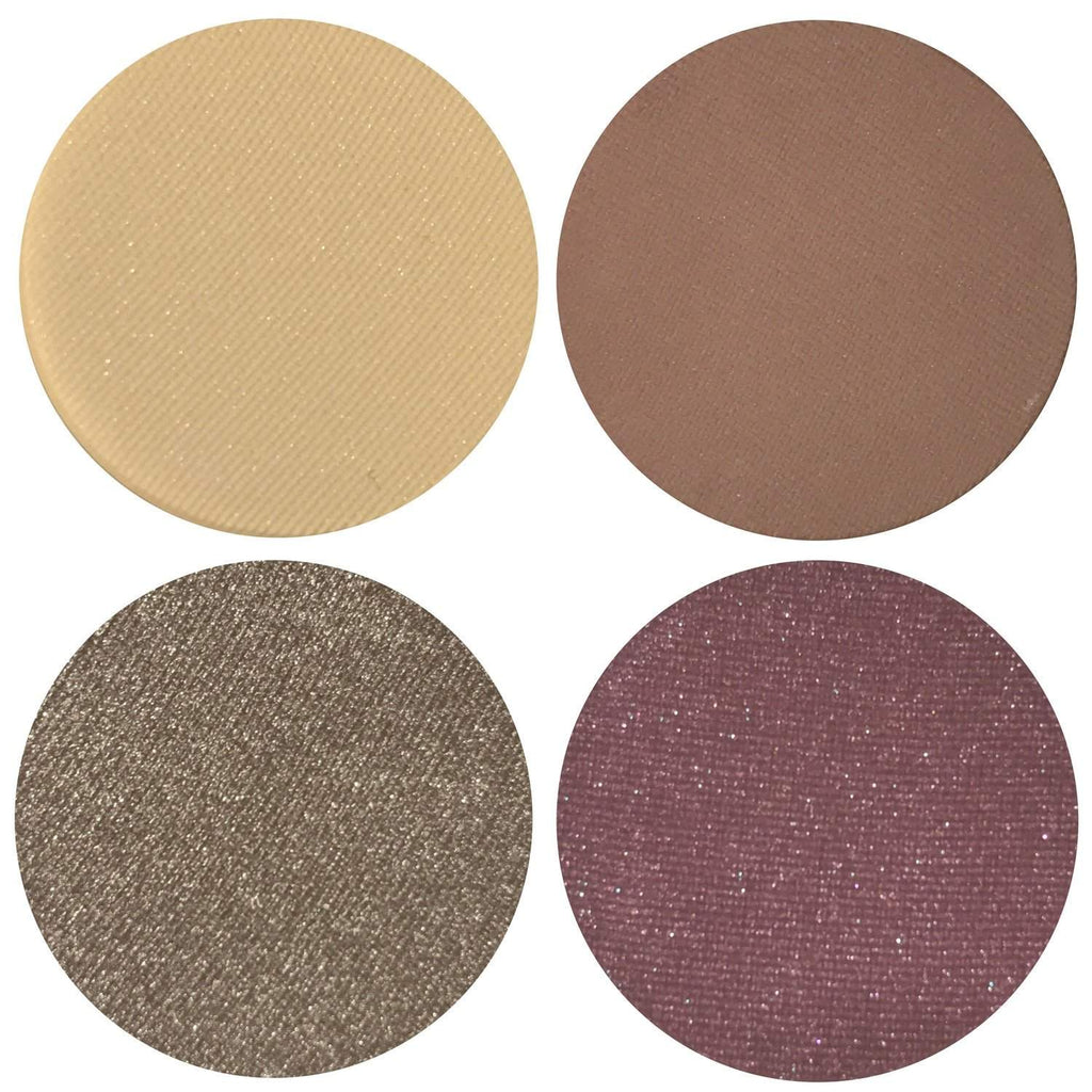 Date Night Collection Eyeshadow Quad Kit Magnetic Refill Pans