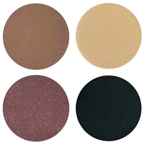 EXTRA Smokey Collection Eyeshadow Quad Kit Magnetic Refill Pans