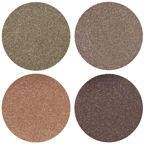 From The Stars Metallic Collection Eyeshadow Quad Kit Magnetic Refill Pans