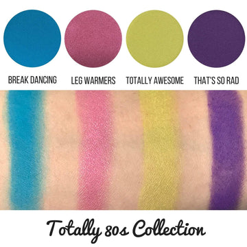Totally 80s Eyeshadow Collection Eye Makeup Look - 80s-eye-makeup