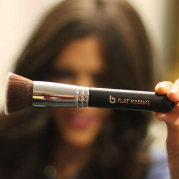 Flat Top Kabuki Foundation Makeup Brush