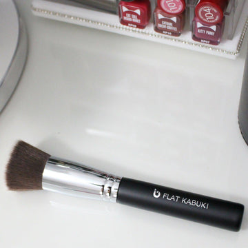 Flat Top Kabuki Makeup Brush