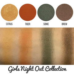 Girls Night Out Collection Eyeshadow Quad Kit Magnetic Refill Pans
