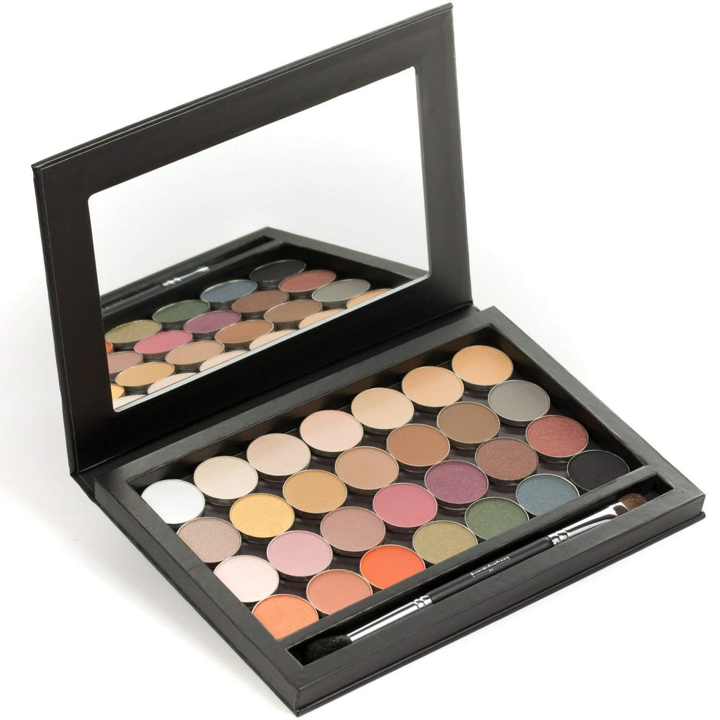 28 Single Eye Shadow Pans With A Magnetic Makeup Palette