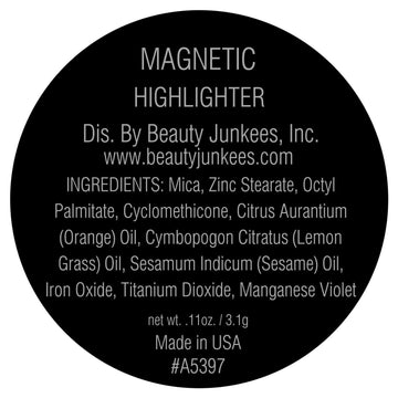 Magnetic Powder Highlighter Pan