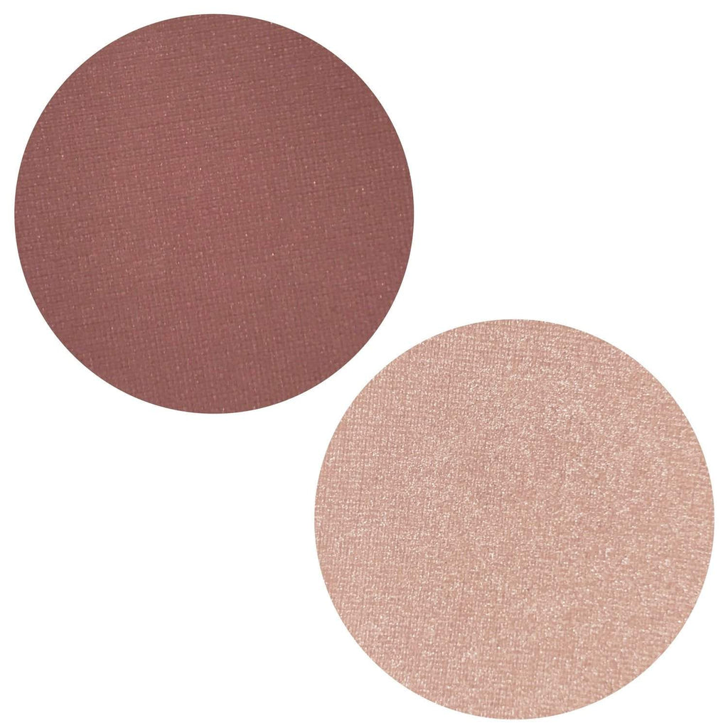 Mauve Mist Collection Powder Blush Highlighter Duo Magnetic Refill Pans