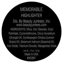 Memorable Highlighter Single Magnetic Pan Refill
