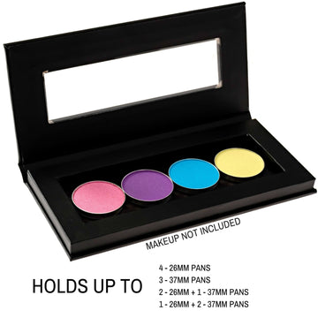 Magnetic Makeup Palette with Clear Window - 2pc