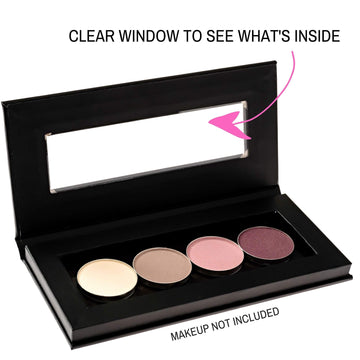 Magnetic Makeup Palette with Clear Window