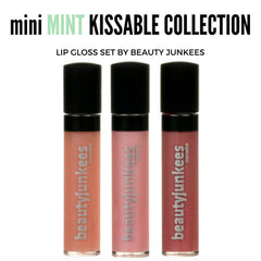 Mint Lip Gloss Set Kissable Collection 3PC