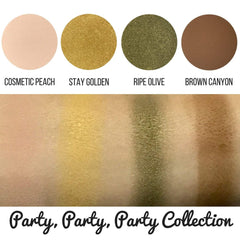 Party Party Party Collection Eyeshadow Quad Kit Magnetic Refill Pans
