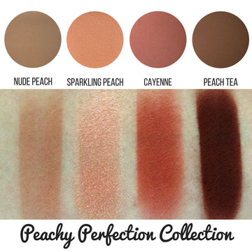 Peachy Perfection Eyeshadow Collection Eye Makeup Look