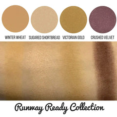 Runway Ready Collection Eyeshadow Quad Kit Magnetic Refill Pans