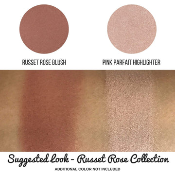 Russet Rose Powder Blush Pan