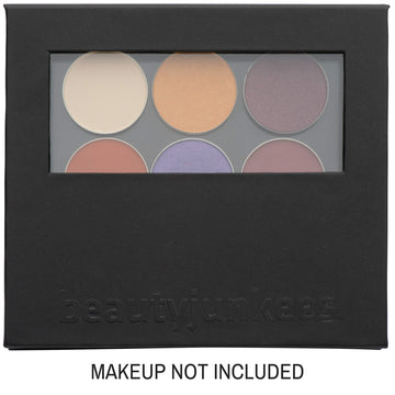 Magnetic Makeup Palette with Clear Window and Mirror