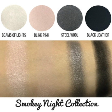 Smokey Night Eyeshadow Collection Eye Makeup Look