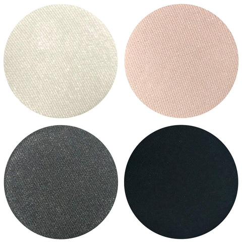 Smokey Night Collection Eyeshadow Quad Kit Magnetic Refill Pans