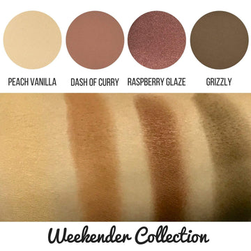 Weekender Eyeshadow Collection Eye Makeup Look