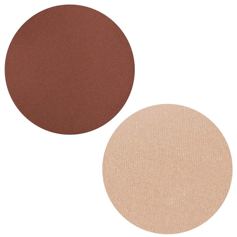 Whipped Mocha Collection Powder Blush Highlighter Duo Magnetic Refill Pans