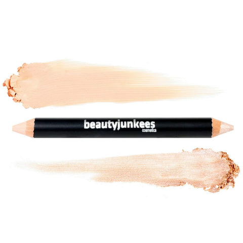 Concealer & Highlighter Duo Pencil Crayon ~ Cool Beige