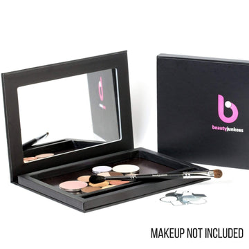 Magnetic Makeup Palette with Mirror Plus Small Magentic Palette - 2pc