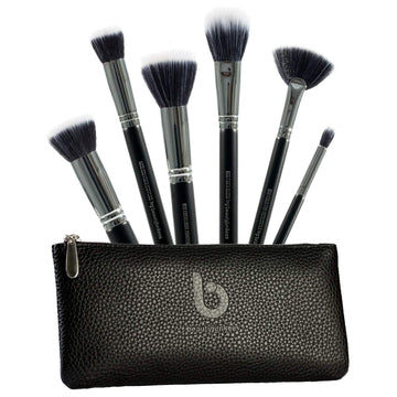 Duo Fiber Makeup Brush Set with Case