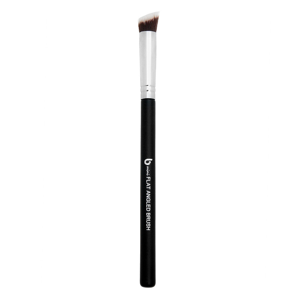 mini Flat Angled Kabuki Makeup Brush