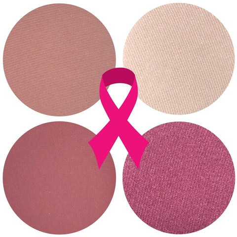 THINK PINK BREAST CANCER AWARENESS EYESHADOW QUAD - FREE SHIPPING