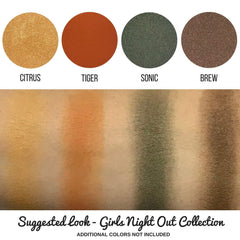 Citrus Eye Shadow Single Magnetic Refill Pan