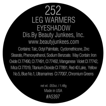 Leg Warmers Eyeshadow Pan