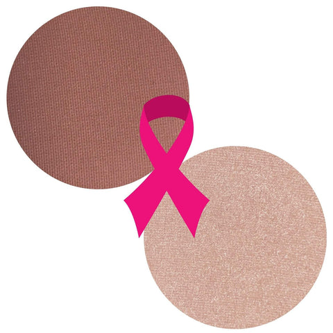 THINK PINK BREAST CANCER AWARENESS - Twilight Dreams Collection Powder Blush Highlighter Duo Magnetic Refill Pans - FREE SHIPPING