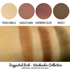 Peach Vanilla Eye Shadow Single Magnetic Refill Pan