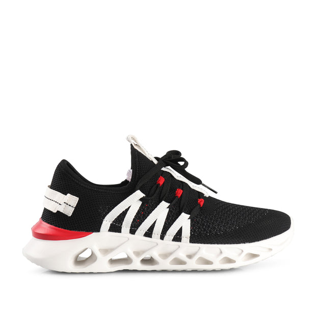 BWave-Black, Red and White