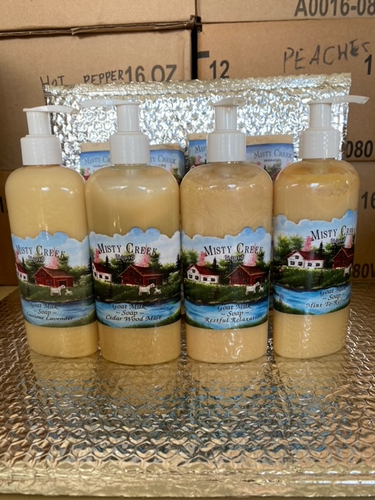 Amish made liquid soaps 4oz 8oz