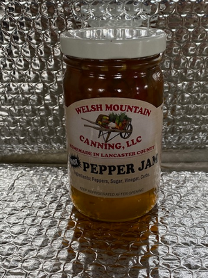 Hot pepper jam 8oz