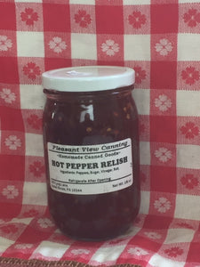 hot pepper relish 16oz canned