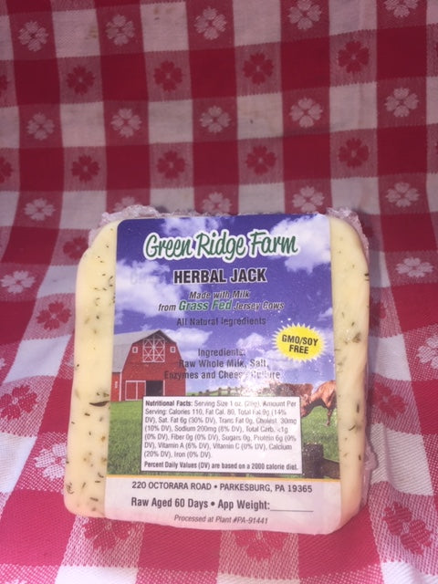 Herbal jack cheese 8oz no GMO
