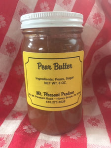 Pear butter 8oz
