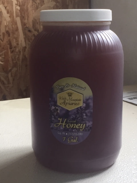 1 gallon jug pure raw honey
