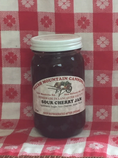 sour cherry jam 8 oz
