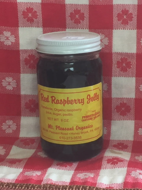 red raspberry jelly 8oz