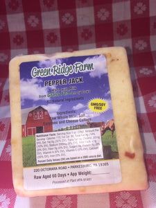 Pepper jack cheese 8oz no GMO